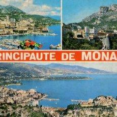 Postales: PRINCIPAUTE DE MONACO ESCRITA CIRCULADA SELLO. Lote 28425145