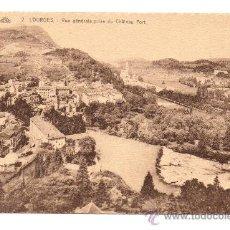 Postales - LOURDES. - VUE GÉNÉRALE PRISE DU CHÂTEAU FORT - 28554289