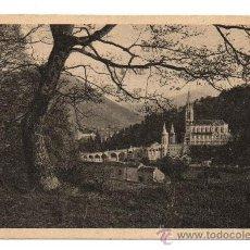 Postales: LOURDES. - LA BASILIQUE. (C.1935). Lote 28569336