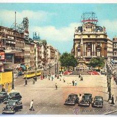 Postales: BELGICA. BRUXELLES. LA PLACE DE BROUCKÉRE.. Lote 28777131