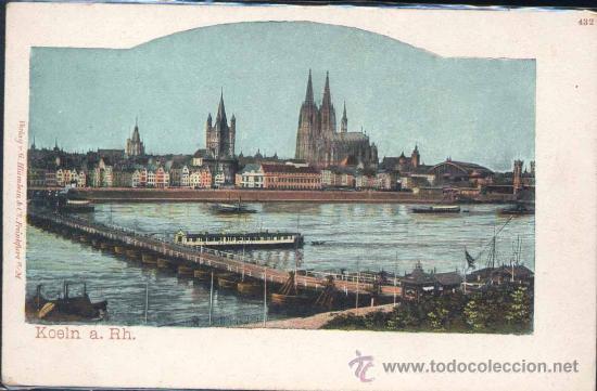 KOELN A RH. (GERMANY) (Postales - Postales Extranjero - Europa)