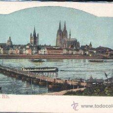 Postales: KOELN A RH. (GERMANY). Lote 29049070