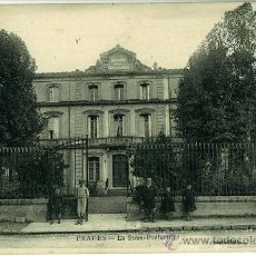 Postales: POSTAL ANTIGUA PRADES (FRANCIA). LA SOUS PREFECTURE. 1924. Lote 29135092