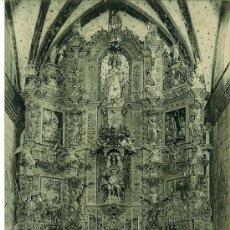 Postales: POSTAL ANTIGUA PRADES (FRANCIA) LE RETABLE DE L'EGLISE SAINT PIERRE. 1924. Lote 29135230