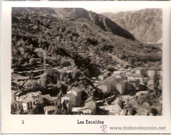 Postales: ANDORRA - BLOCK COMPLETO 15 VISTAS -TAMAÑO 8X10 CM. - V. CLAVEROL - VER FOTOS ADICIONALES - (B-95) - Foto 6 - 29137222