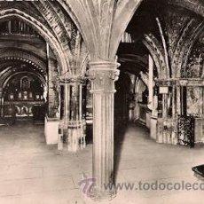 Postales: TOULOUSE - LA CRYPTE DE LA BASILIQUE ST.-SERVIN (SIGLO XI). Lote 29177642