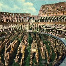 Postales: ROMA COLOSSEO COU NUOVI SCAVI NUEVA SIN CIRCULAR Nº 201. Lote 29233085