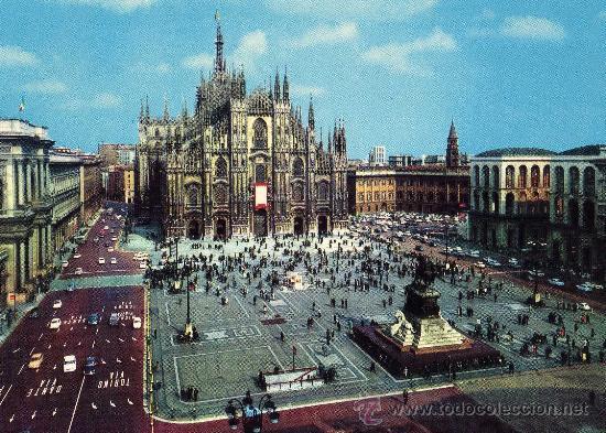 MILANO PIAZZA DEL DUOMO NUEVA SIN CIRCULAR ED. LUIGI SCROCCHI MILANO (Postales - Postales Extranjero - Europa)