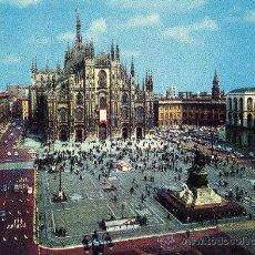 Postales: MILANO PIAZZA DEL DUOMO NUEVA SIN CIRCULAR ED. LUIGI SCROCCHI MILANO . Lote 29265733