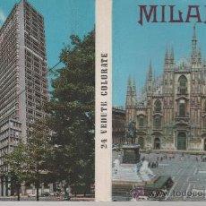 Postales: 4 LIBRITOS DE FOTOS DE LA DÉCADA DE LOS 50 DE MILÁN, FLORENCIA, VENECIA Y CANNES.. Lote 29468872