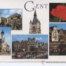 Postales: GENT (BELGICA). Lote 29479102