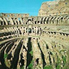 Postales: ROMA - IL COLOSSEO. INTERNO. Lote 29494145