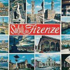 Postales: FIRENZE - SALUTI DA FIRENZE. Lote 29505402