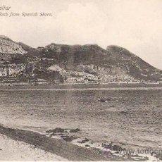 Postales: TARJETA POSTAL. GIBRALTAR. Nº 85629. ROCK FROM SPANISH SHORE. ED. BEANLAND MALIN & CO.. Lote 29517741