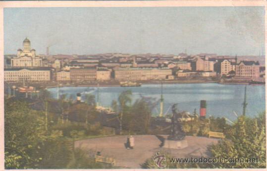 POSTAL DE FINLANDIA - SUOMI - HELSINKI HELSINGFORS 1959 (Postales - Postales Extranjero - Europa)
