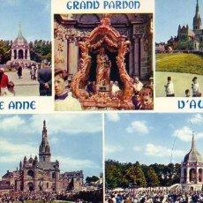 Postales: FRANCIA SAINTE ANNE D'AURAY POSTAL CIRCULADA. Lote 29750063
