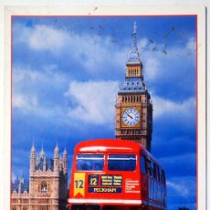 Postales: LONDRES. LONDON. BIG BEN AND BUS.. Lote 29839778