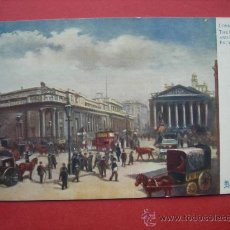 Postales: POSTAL ANTIGUA - LONDON - THE BANK AND ROYAL EXCHANGE - LONDRES. Lote 29927350