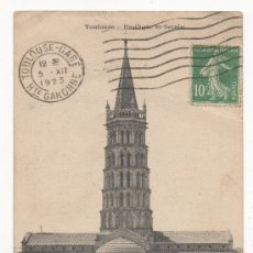 Postales: TOULOUSE.- BASILIQUE ST-SERNIN.- (C.1920).. Lote 30033707
