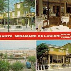 Postales: PORTO GARIBALDI (FERRARA) - RISTORANTE MIRAMARE. Lote 36677208