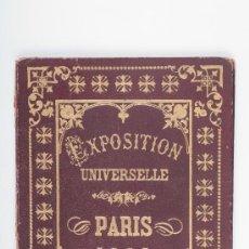 Postales: VUE GÉNÉRALE DE L'EXPOSITION UNIVERSELLE DE PARIS 1900 - POSTALES EN ACORDEON. Lote 30158401