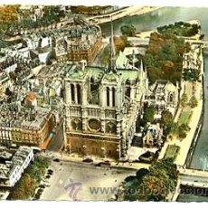 Postales: 7-FRA439. POSTAL PARIS. VISTA AÉREA DE NOTRE DAME. Lote 30161061