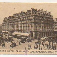 Postales: PARIS. GRAND HOTEL TERMINUS. RUE ST.LAZARE.. Lote 30270337