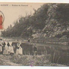 Postales: PONT SCORFF. ROCHERS DE PENMAMÉ. . Lote 30871530