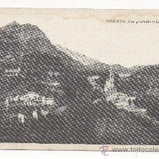 Postales: LOURDES.- VUE GÉNÉRALE PRISE DU FORT.. Lote 30410875