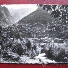 Postales: VALLS D'ANDORRA - LES ESCALDES, VISTA PARCIAL. Lote 30413480