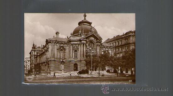 TARJETA POSTAL DE HUNGRIA. BUDAPEST. VIGSZINHAZ. (Postales - Postales Extranjero - Europa)