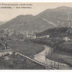 Postales: LOURDES.- VUE GÉNÉRALE.- SOUVENIR DU CINQUANTENAIRE (1858-1908).. Lote 30636676
