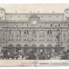 Postales: PARIS. GARE SAINT LAZARE. ESTACION DEL FERROCARRIL. . Lote 30689206