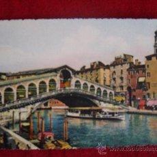 Postales: POSTAL VENEZIA PONTE DI RIALTO. Lote 30783592