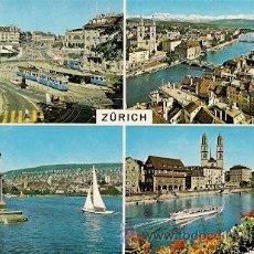 Postales: SUIZA- ZURICH. Lote 30889940