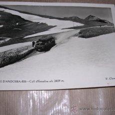 Postales: VALLS D`ANDORRA - 806 COLL D`ENVALIRA V. CLAVEROL 15X10 CM.. Lote 30898721