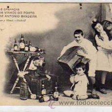 Postales: POSTAL PUBLICITARIA VINOS DE OPORTO Y MADEIRA . PORTO VINHOS ANTONIO BANDEIRA. HAUSER.. Lote 30913160