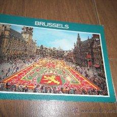 Postales: POSTAL DE BRUSSELS GRAND PLACE. Lote 30981092