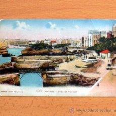 Postales: BIARRITZ - PORT DES PECHEURS. Lote 31106559