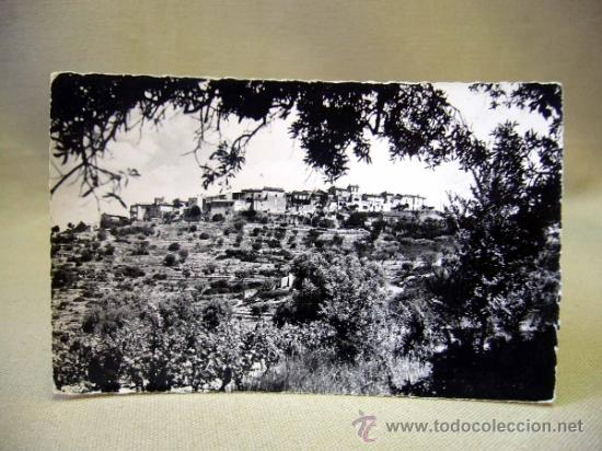 POSTAL, TARJETA POSTAL, TROQUELADA, FOTO R. VASALL, 1955, CIRCULADA (Postales - Postales Extranjero - Europa)