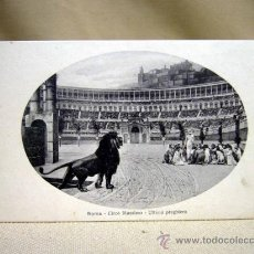 Postales: POSTAL, TARJETA POSTAL, ROMA, EL FOSO, COLISEO,, FOTOTIPIA ALTEROCCA TERNI. Lote 31168090