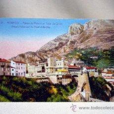 Postales: POSTAL, TARJETA POSTAL, MONACO, PALACIO, J. GILLETA. Lote 31171519
