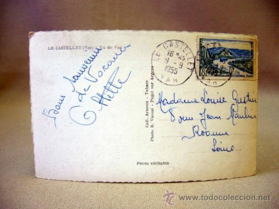Postales: POSTAL, TARJETA POSTAL, TROQUELADA, FOTO R. VASALL, 1955, CIRCULADA - Foto 2 - 31140731