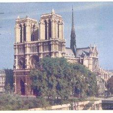 Postales: FRANCIA PARIS NOTRE DAME POSTAL CIRCULADA. Lote 31169270
