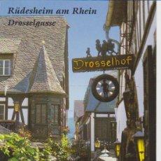 Postales: RUDESHEIM AM RHEIN (ALEMANIA). Lote 31221465