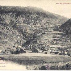 Postales: PS2045 LES PYRÉNÉES 'VALLÉE D'ANDORRE - CANILLO - VUE GENERALE'. LABOUCHE. NÚM. 1011. SIN CIRCULAR. Lote 31263796