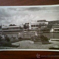 Postales: POSTAL-CARTE POSTALE EXPOSITION INTERNATIONALE PARIS 1937-UN COIN DU PARC DES ATTRACTIONS-H.CHIPAULT. Lote 31349947