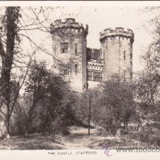 Postales: THE CASTLE STAFFORD INGLATERRA (SIN CIRCULAR) . Lote 31389502