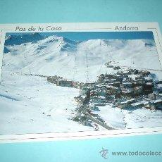 Postales: POSTAL VISTA GENERAL DE PAS DE LA CASA. PRINCIPADO DE ANDORRA. FINALES DE LOS 80. Lote 31397391