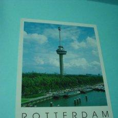 Postales: POSTAL ROTTERDAM. EUROMAST MET SPACE TOWER. SIN CIRCULAR. AMSTERDAM. POSTAL HOLANDA. PAÍSES BAJOS. Lote 31561365